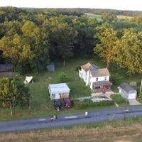 Haunted Trails of Gettysburg - Aerial View of Campground