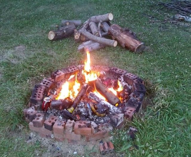 Haunted Trails of Gettysburg - Fire Pit