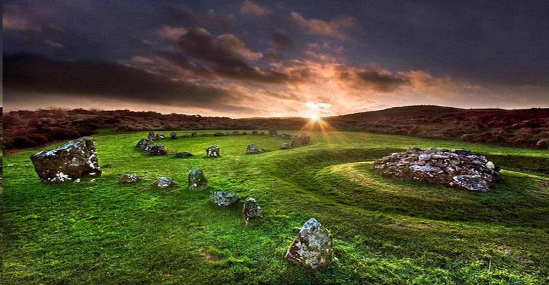 Mysterious Beaghmore Stone Circles