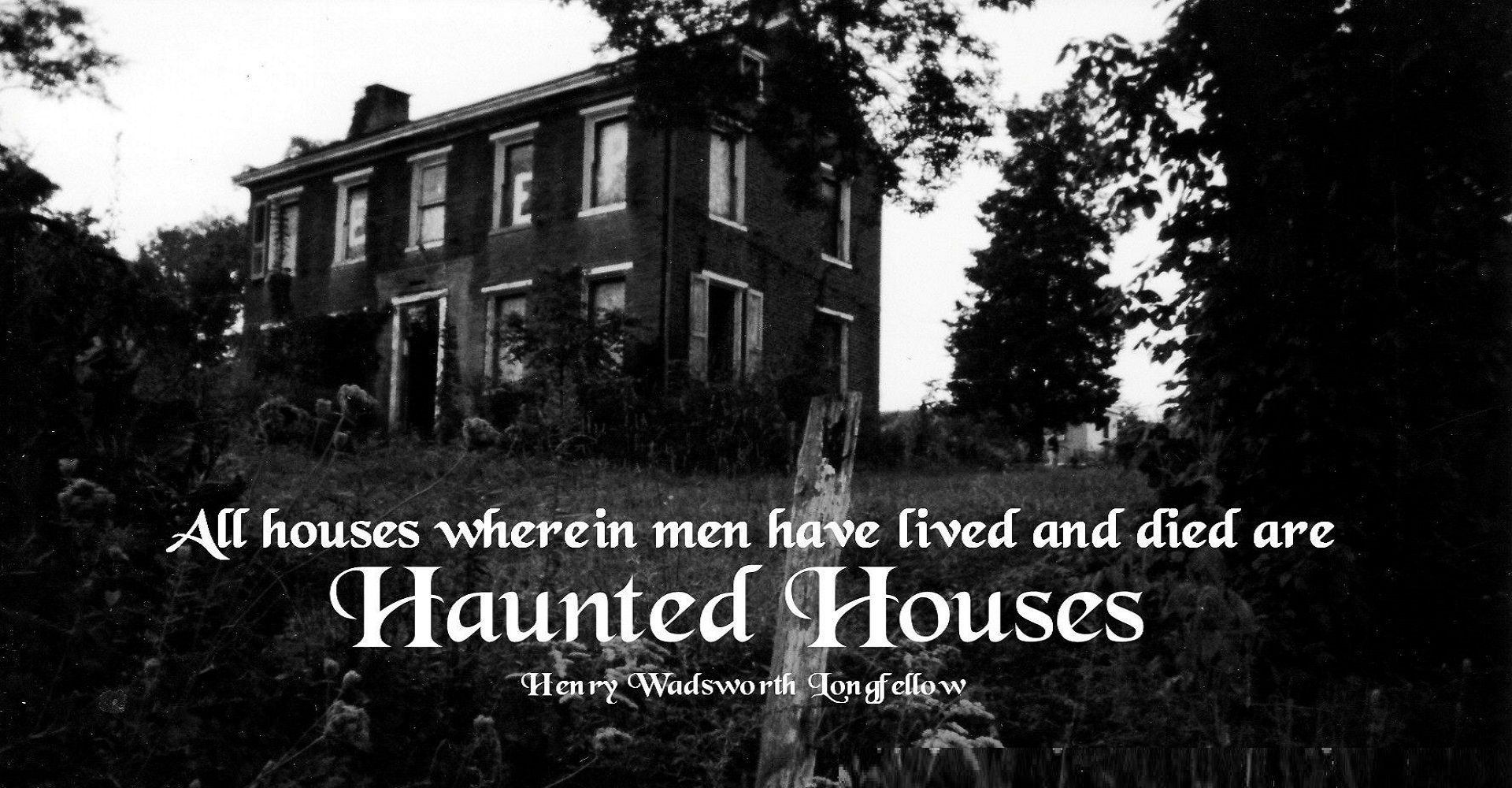 A Poet's Dark Craft: Haunted Houses