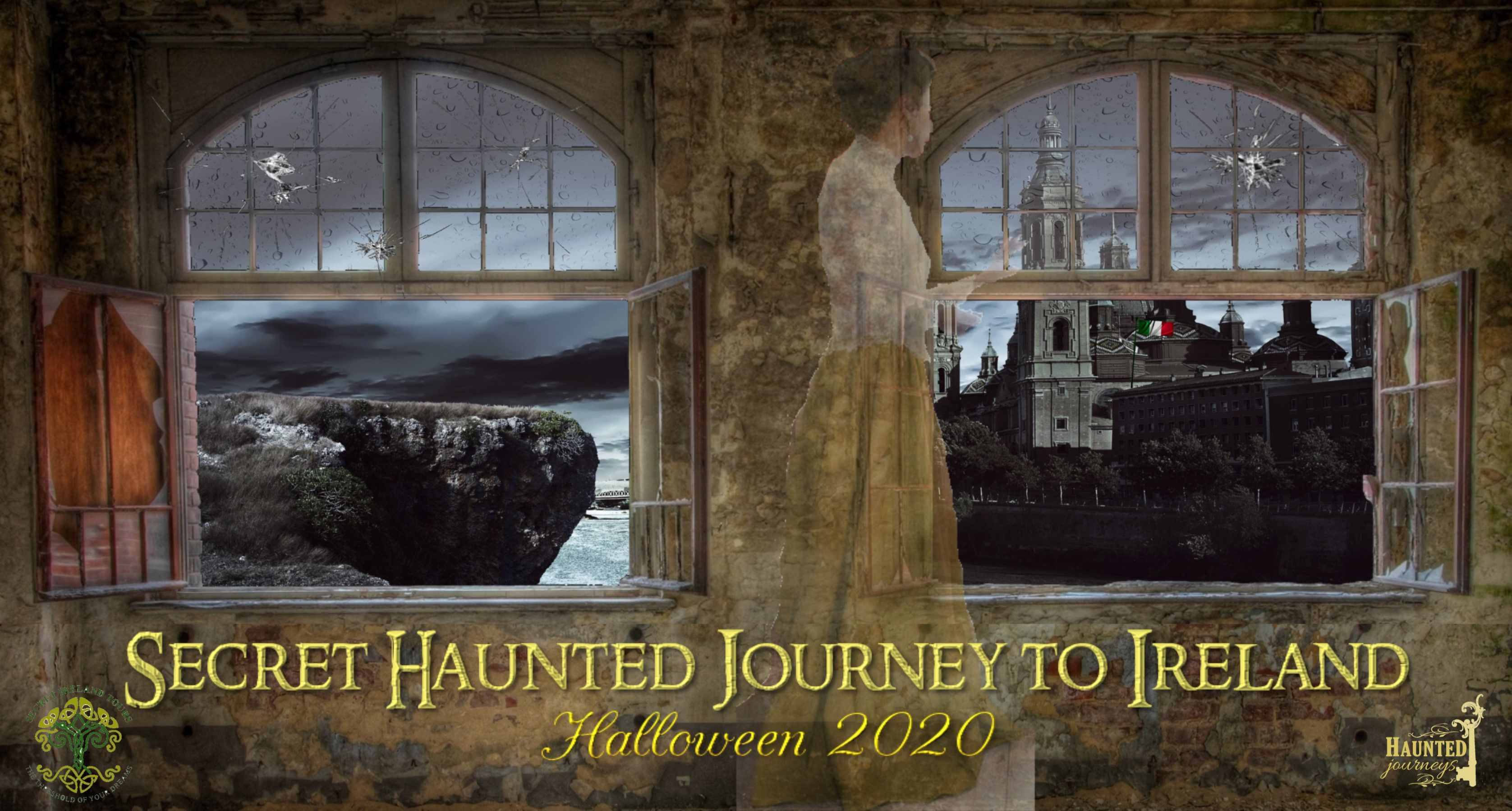 A Secret Haunted Journey to Ireland - A Halloween Adventure!!