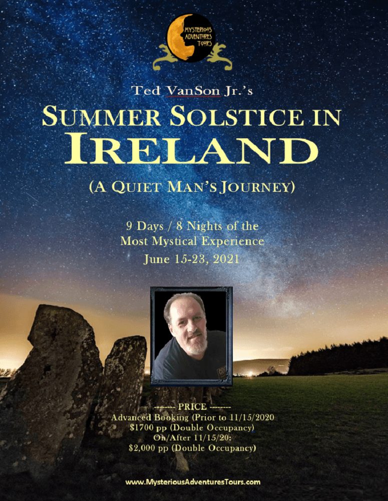 Ted VanSon's Ireland Trip - Mysterious Adventures Tours
