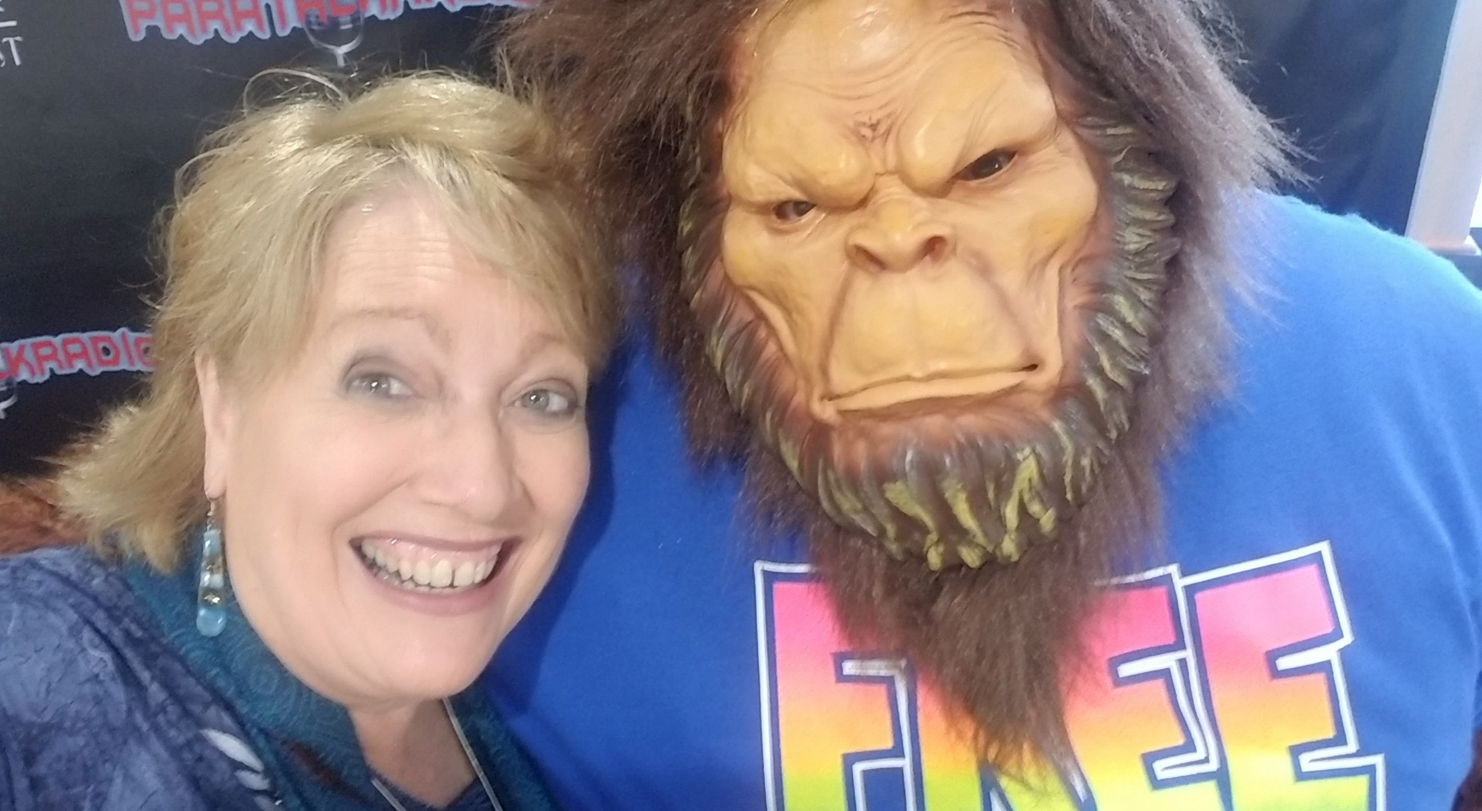 Buddy the BigFoot with Maria Schmidt from Haunted Journeys