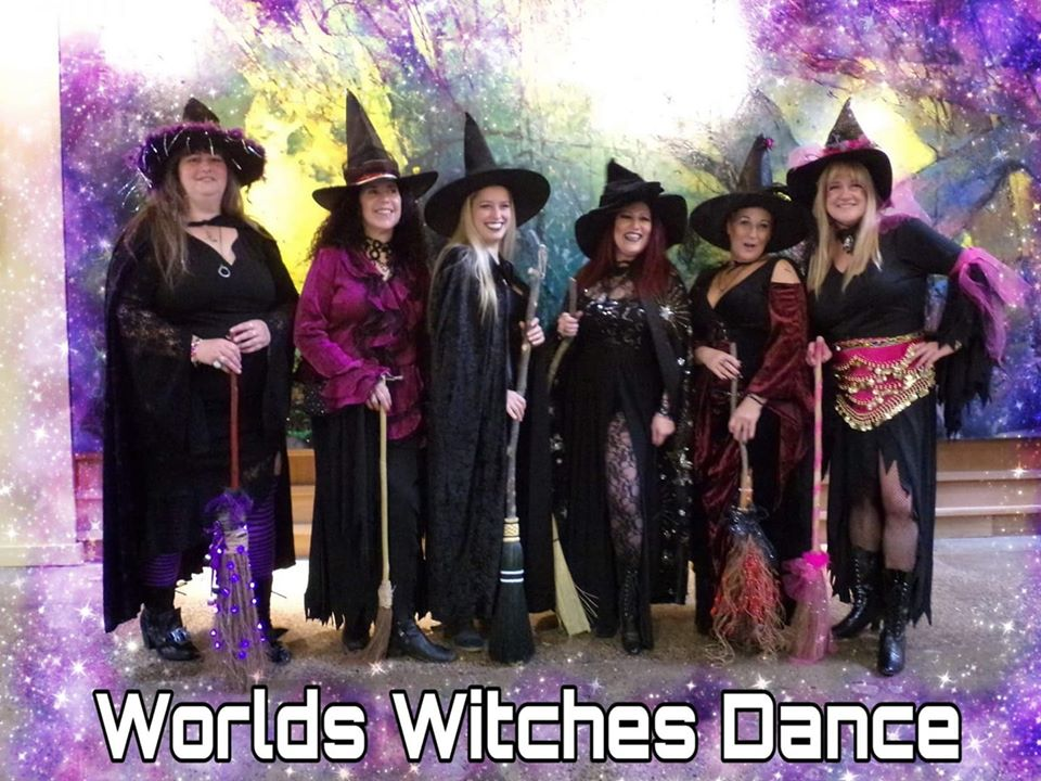 Worlds Witches Dance taking part in the Rochester Winter ParaFest