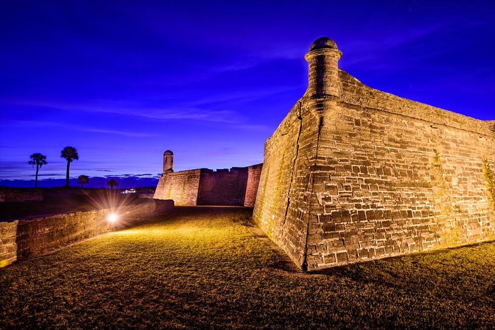 Haunted Castillo de San Marcos