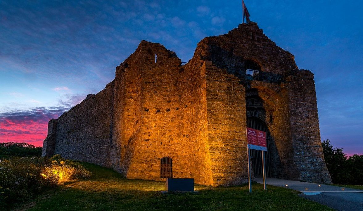 Haunted Oystermouth Castle