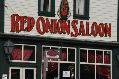 Haunted Red Onion Saloon.