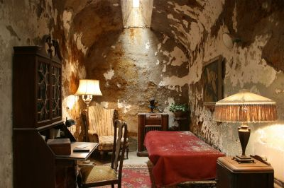 Haunted Alcatraz Federal Prison island - Al Capone's Jail Cell