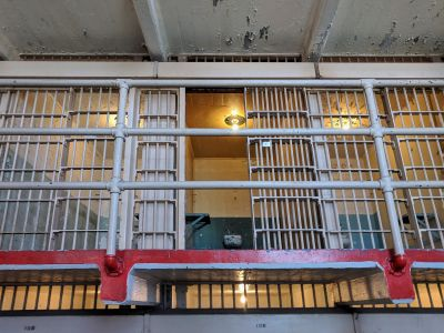 Haunted Alcatraz Federal Prison island - Cell 181 Al Capone