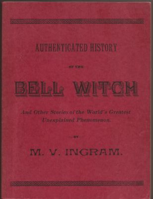 Haunted Bell Witch Cave - The Book
