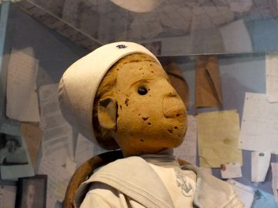 Robert the Doll at the Fort East Martello Museum