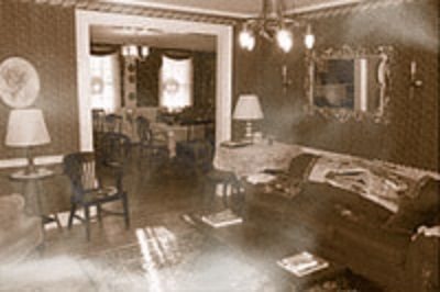 Spectral image captured in the Haunted Chapman Inn.