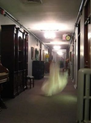 Entity captured at the Haunted Jerome Grand Hotel