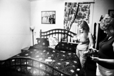 Spectral Image captured at the haunted 1875 Tilton Inn by photographer Leo Monfet