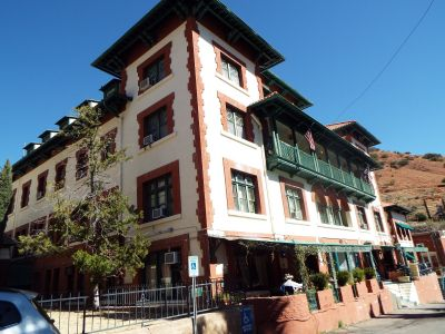 Haunted Copper Queen Hotel