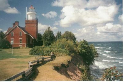Haunted BIg Bay Point Lighthouse Bed and Breakfast