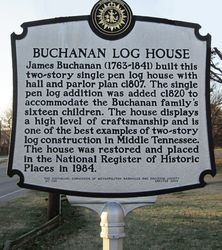 Buchanan Log House
