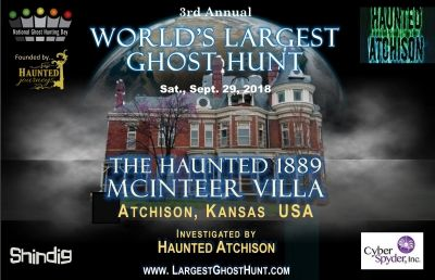 World's Largest Ghost Hunt 2018