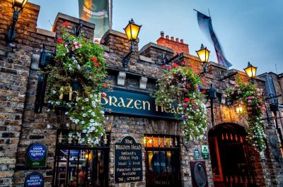 Haunted Brazen Head in Ireland