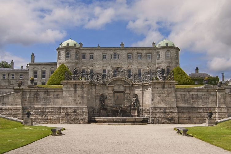 The Powerscourt House and Gardens
