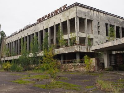 Haunted Chernobyl Nuclear Plant Site