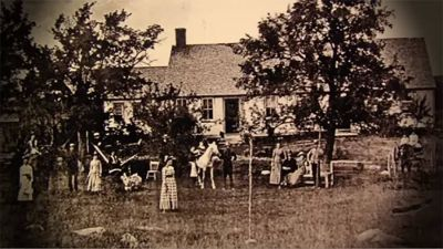 The Haunted Conjuring House - Historical Photo