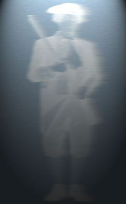 Haunted White Horse Tavern - Photo of an apparition