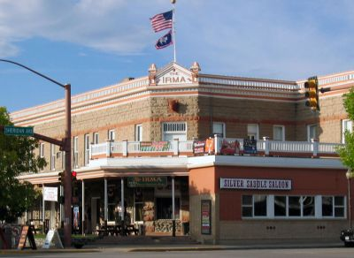 Haunted  Buffalo Bill's Irma Hotel