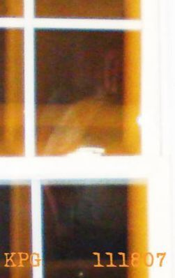 Spectral Images captured on the Haunted Sallie House