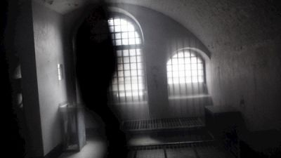 Image of Specter at the haunted Spike Island in Ireland