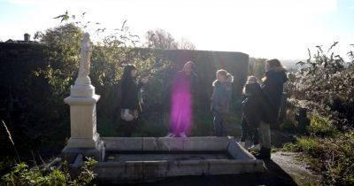 Little Nellie's Gravesite at the Haunted Spike Island in Ireland