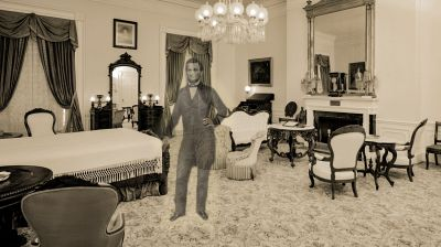 Abraham Lincoln's Room at the Haunted White House