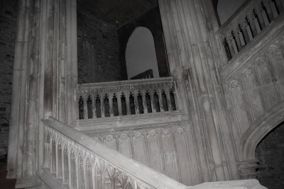 Spectral Image captured in the Haunted Margam Castle